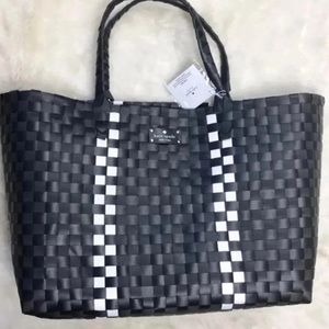 Kate Spade Tote Weekender Bag Travel Holdall Black